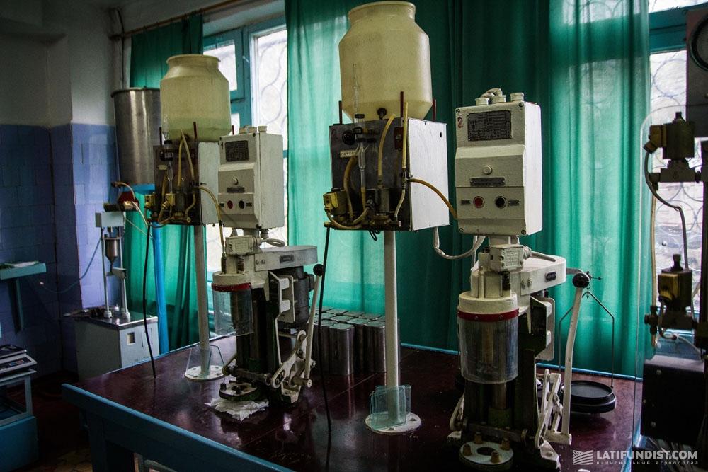 Лаборатория сахарного завода